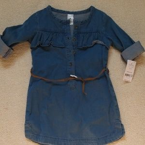 Carters denim dress
